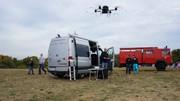 Aufklärungssystem AMFIS: Fliegende Spürnasen für die Feuerwehr