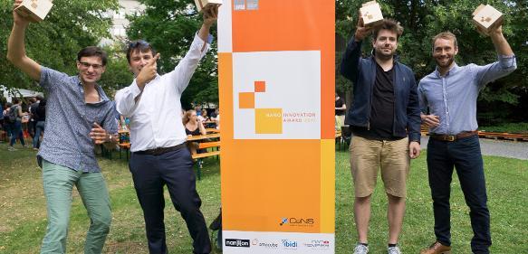 Preisträger des CeNS Award freuen sich