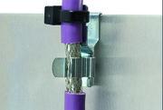 EMV-Schirmklammern:: Montieren ohne Schrauben