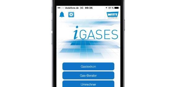 Die App iGases steht als gratis Download im Apple App Store und auf Google Play zur Verfügung.