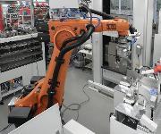 Automatisches Prüfsystem mit Prüfmaschine der Serie Inspekt 400 kN