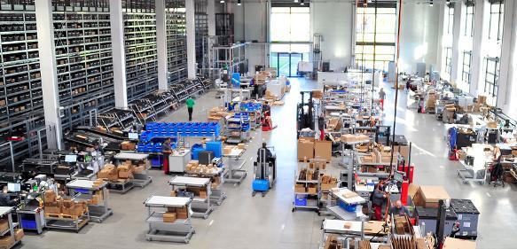 Logistikzentrum item Solingen