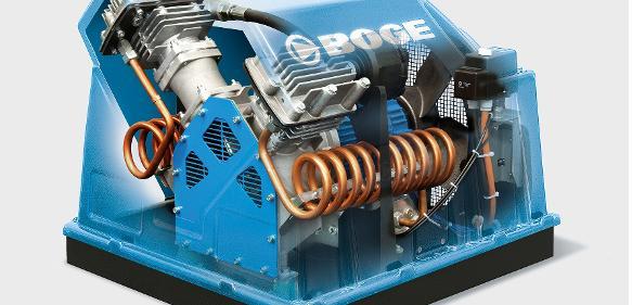 PO-Baureihe (Piston oilfree) von Boge Kompressoren