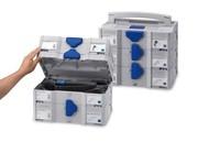 Elektrowerkzeuge: Platzsparende Lagerung