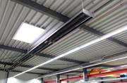 Heizungssanierung: Strahlungsheizung in Industriehallen