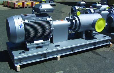 Bitumenpumpen: Stabiler Betrieb und hoher Wirkungsgrad