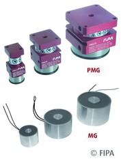 Magnetgreifer: Pneumatisch gesteuert