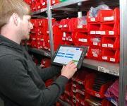 Tablet PC in der Logistik