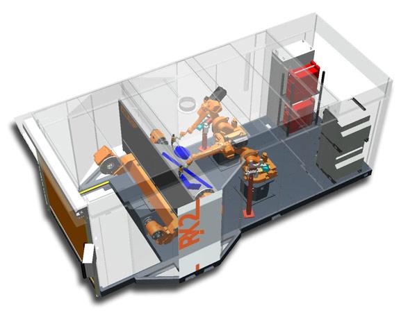 Schweißroboter: Rationalisierungspotenziale modularer Standardschweißzellen