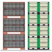 Kunststoff-Großbehälter ersetzen Gitterbox: Altes Eisen weg