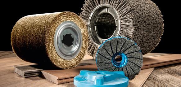Technische Bürsten: Kullen-Koti zeigt Anwendungen in der Holzbearbeitung