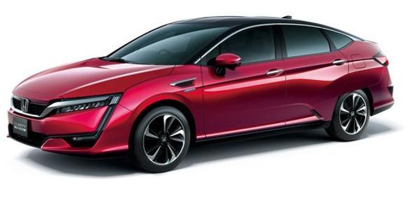 """Brennstoffzellenauto von Honda,  """"Clarity Fuel Cell"""""""