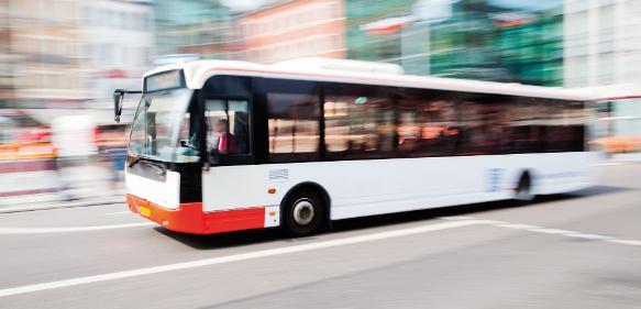 Kabel im Linienbus