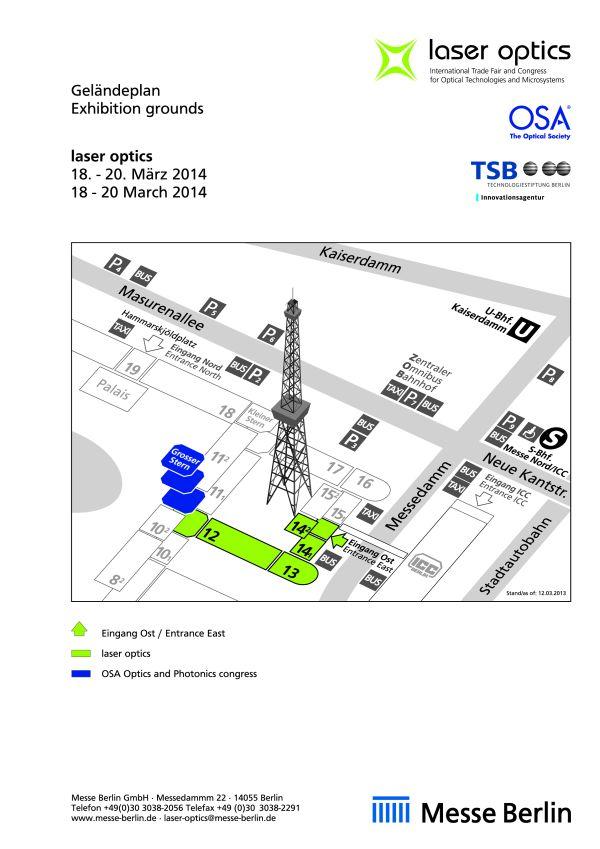News: Laser Optics in Berlin: Optische Sensorik im Programm