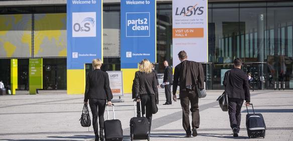 Lasys auf der Messe Stuttgart