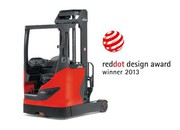 News: Designpreis für Schubmaststapler von Linde Material Handling