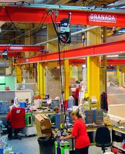 Heben und Bewegen: Produktionsablauf optimiert