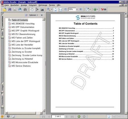 Märkte + Unternehmen: Maschinen- und Anlagendokumentationen: Daten aus PLM-System für die Dokumentation
