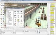 News: Visualisierung/Simulation: Modellbaukasten für Logistik-und Produktionsszenarien