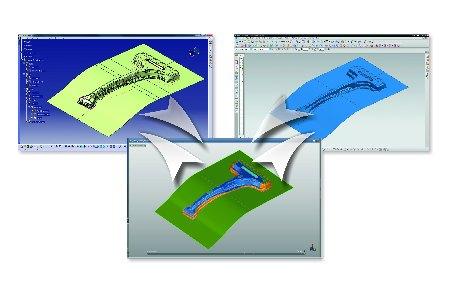 Märkte + Unternehmen: Blechumformung: Schneller Datenaustausch zwischen Autoform und CAD