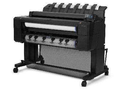 Märkte + Unternehmen: Großformat-Multifunktionsdrucker: HP erweitert die Designjet T-Serie