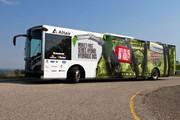 Märkte + Unternehmen: Treibstoffeffizienz: Altair ProductDesign stellt in Amerika hydraulischen Hybrid-Nahverkehrsbus vor
