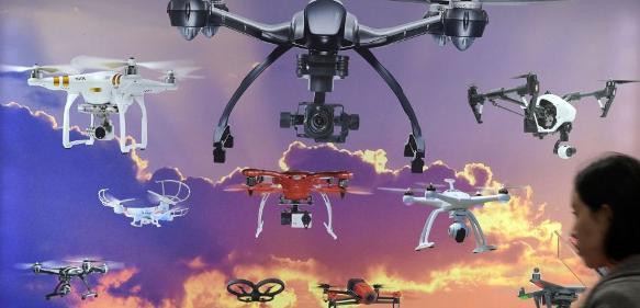 CeBIT 2017: Drone Park Teil 1