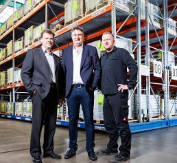 Martin Hitzfeld, Jens Buchholz und Michael Smolarek