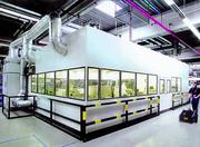 Industriebau/Gebäudetechnik (BT): Reinheit in die Halle rein