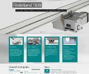 Montech Fördertechnik mit neuer Website