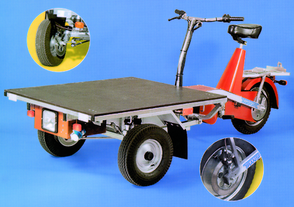 Heben und Bewegen: Dreirad für Große