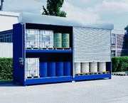 Fertigungstechnik und Werkzeugmaschinen (MW),: Hinter dem Rolltor