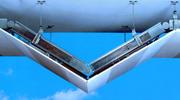 Industriebau/Gebäudetechnik (BT): Schräg abgehängt