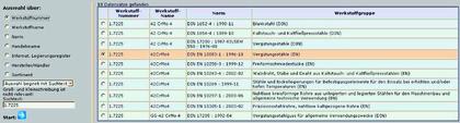 Werkstoff-Datenbank: Werkstoff-Wissen