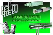 Systeme für Materialfluss und Handhabungstechnik: Komponenten für den Maschinenbau