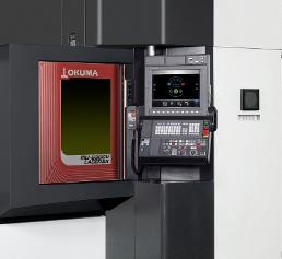 Modell der Okuma LASER EX Serie