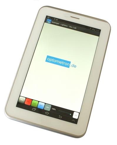 News: App Multilight: Display als Durchlichtquelle