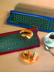 Schutztastatur: Saubere Tastaturen
