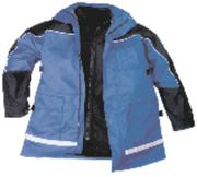 Arbeitsschutz und Arbeitssicherheit: Eine dicke warme Jacke