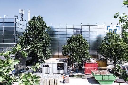 Sanierung eines Parkhauses