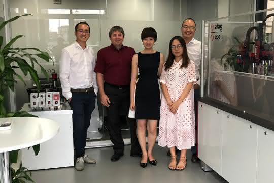 Das Afag-Team am Standort Shanghai