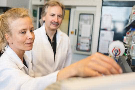 Anja Hemschemeier und Thomas Happe von der RUB