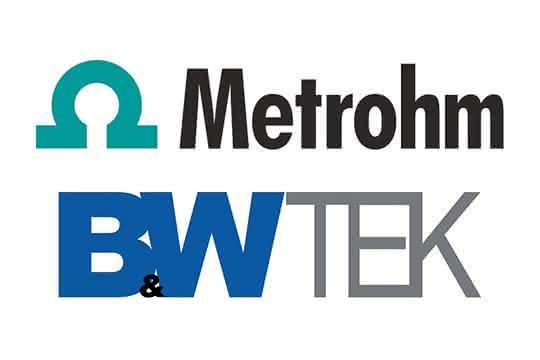 Logos Metrohm und B & W Tek