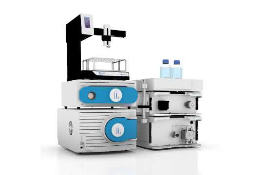 4000 MiD Massenspektrometer mit automatischer Flowsplit-Einheit