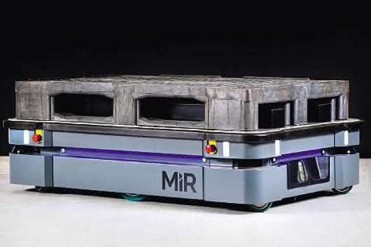Transportroboter: MiR500: Größer, schneller und stärker