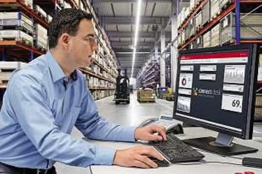 Software: Linde Material Handling: Flottenmanagement: Informationen auf einen Klick