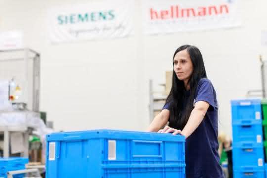 Kontraktlogistik: Hellmann Contract Logistics und Siemens AG verlängern Vertrag