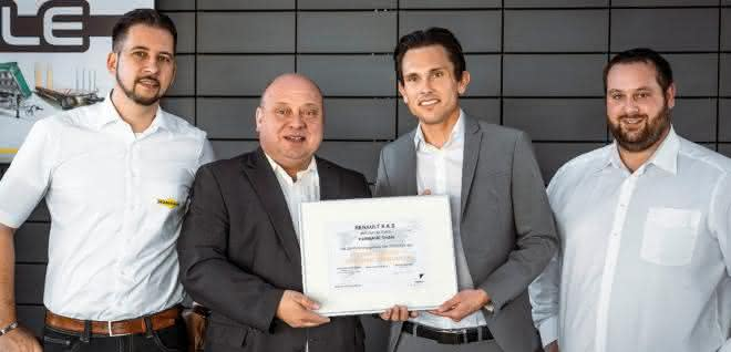 Zu Lande: Humbaur erhält Zertifikat von Renault als Umbaupartner