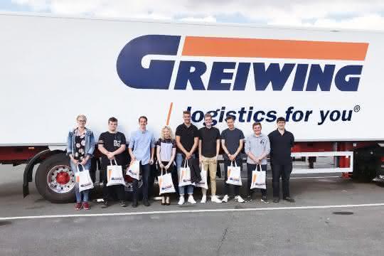 Logistik-Dienstleister: Logistiker Greiwing heißt 20 neue Azubis willkommen