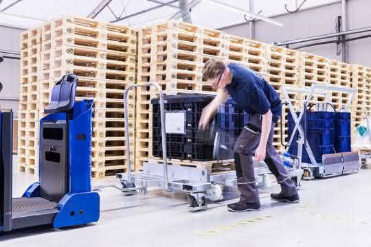 Räder und Rollen erhöhen Arbeitssicherheit: Sicherheit ins Rollen bringen